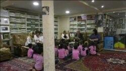 معلم بازنشسته عراقی خانه خود در سلیمانیه را تبدیل به کتابخانه کودکان و نوجوانان کرده است