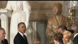 2013-02-28 美國之音視頻新聞: 美民權領袖認為中國人民要相信個人力量能改變世界