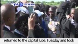 VOA60 World PM - South Sudan Rebel Chief Sworn In as VP