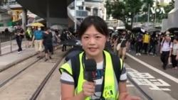 香港已成新闻记者的冲突地带