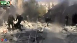 სირიის ჯარი ოპოზიციის ტერიტორიებს ბომბავს