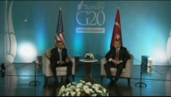 US President Discusses Meeting with Turkish President Erdogan