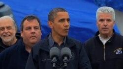 奧巴馬承諾為桑迪颶風受災民眾提供長期幫助