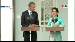 Tổng thống Obama gặp gỡ lãnh tụ dân chủ Aung San Suu Kyi