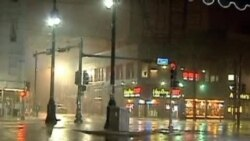"""飓风""""艾萨克""""侵袭美国路易斯安那州"""
