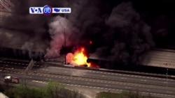 Manchetes Americanas 31 de Março 2017: Ponte colapsou em Atlanta, Geórgia