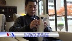 Lần đầu đi bầu cử của một người Mỹ gốc Việt