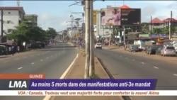 Conakry partiellement paralysée