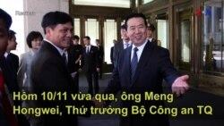 Thứ trưởng Công an Trung Quốc lãnh đạo Interpol