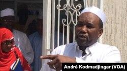 Mahamat Zen Bada secrétaire général du MPS, au Tchad, le 29 janvier 2019. (VOA/André Kodmadjingar)