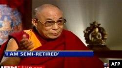 Ðức Ðạt Lai Lạt Ma cho biết Ngài đã ở trong tư thế nghỉ hưu một nửa