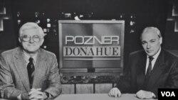 Фил Донахью и Владимир Познер
