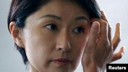 被提名為日本新任經濟產業大臣的小淵優子