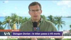 45 morts au Bahamas suite à l'ouragan Dorian