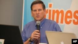 លោក Phil Robertson អនុប្រធានអង្គការសិទ្ធិមនុស្សអាស៊ី Human Rights Watch Asia