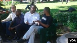 Occupy Africa Unity Square members