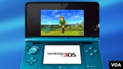La Nintendo 3DS saldrá a la venta en dos colores: azul y negro.