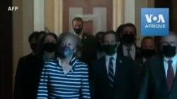 """""""Impeachment"""": Des députés livrent l'acte d'accusation de Trump au Sénat"""
