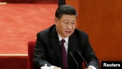 """习近平2018年12月18日在中国庆祝改革开放40周年大会上讲话中强调中国军力要和其""""国际地位相称,同国家安全和发展利益相适应""""。"""