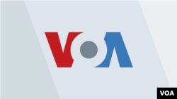 2019 VOA Logo Tri-Color over Gray Background