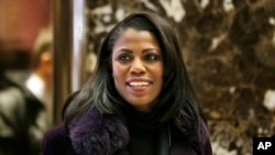 Trump Omarosa à New York, le 13 décembre 2016