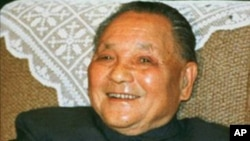 中國前領導人鄧小平(資料照片)