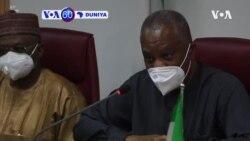 VOA60 DUNIYA: Ministan Harkokin Wajen Najeriya, Geoffrey Onyeama, Ya Gana Da Wakilan Wasu Kasashen Duniya Kan Dakatar Da Twitter A Kasar