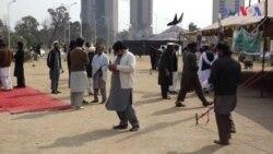 اسلام آباد: نقیب کے قاتلوں کی گرفتاری کے لیےجاری دھرنا ختم
