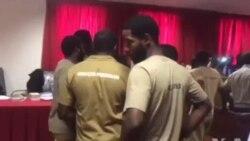 Intervalo do julgamento dos 17 activistas em Luanda