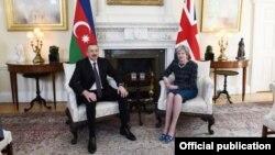 İlham Əliyev və Tereza Mey