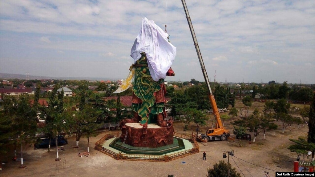 Indonesian Muslims triggered by huge statue of Guan Yu ...
