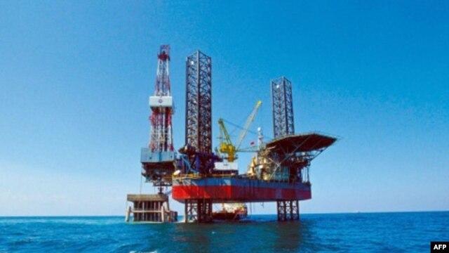 Một giàn khoan của tập đoàn dầu khí quốc doanh Trung Quốc CNOOC