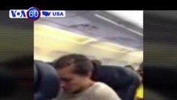 Một động cơ máy bay phát nổ ở Mỹ