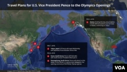 Pence to Attend Olympic Opening Ceremony