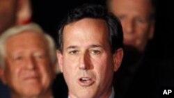 Republican သမၼတေလာင္းေရြးပဲြ Santorum ၃ ျပည္နယ္မွာ အႏိုင္ရ