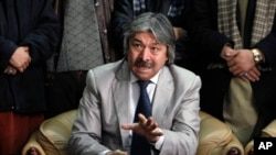 FILE - General Abdul Rashid Dostum.