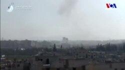 Doğu Guta'ya Hava Saldırısı
