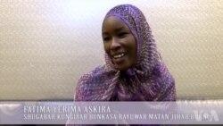 UNGA: Hira Da Shugabar Kungiyar Bunkasa Rayuwar Matan Jihar Borno Fatima Yerima Askira