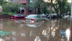 Наслідки проходження північно-східною частиною США залишків урагану Айда. Відео