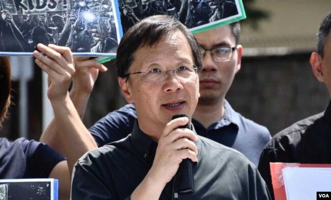 公民党立法会议员郭家麒 (美国之音/汤惠芸 )