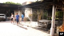 Около консульства США, г. Бенгази 12.09.2012