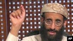 ນັກບວດ Anwar al Awlaki ຜູ້ນໍາກຸ່ມ al-Qaida ຄົນຫລ້າສຸດທີ່ຖຶກສັງຫານໃນການໂຈມຕີ ໂດຍຍົນໂດຣນ ຂອງສະຫະລັດ ໃນເຢເມັນ. (file photo)