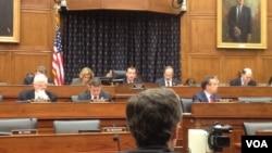 نشست قانونگذاران آمریکا در بررسی تعهد ایران به توافق موقت اتمی ژنو، به ریاست اد رویس، ژوئن ۲۰۱۴