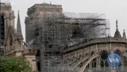馬克龍計劃在五年內重建巴黎聖母院