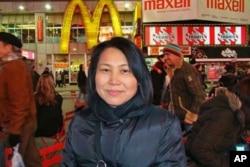 中國異議人士劉念春的妻子儲海藍