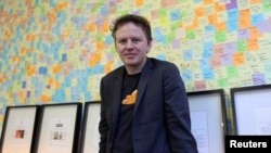 FILE - Matthew Prince, chief executive at CloudFlare, in his office in San Francisco, Dec. 10, 2012. CloudFlare markets itself as an Internet intermediary that shields websites from distributed denial-of-service attacks.