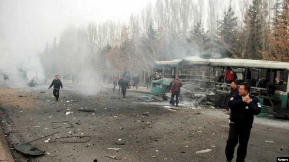 Shpërthim vdekjeprurës në Turqi
