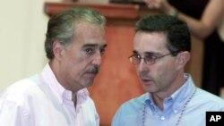 Voceros del Centro Democrático de Uribe no se atreven ni siquiera a confirmar que la reunión de los expresidentes tuvo lugar en la residencia de Trump de Mar-a-Lago, Florida, como especulan los medios de comunicación.