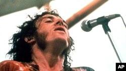 Joe Cocker fue uno de los artistas que actuó en el Festival de Woodstock, en 1969.