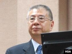 台湾国防部副部长杨念祖(美国之音张永泰拍摄)